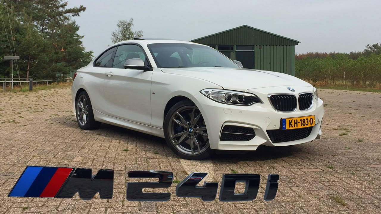 BMW M240i 2017 Review Test Drive POV - Better than M2 ...