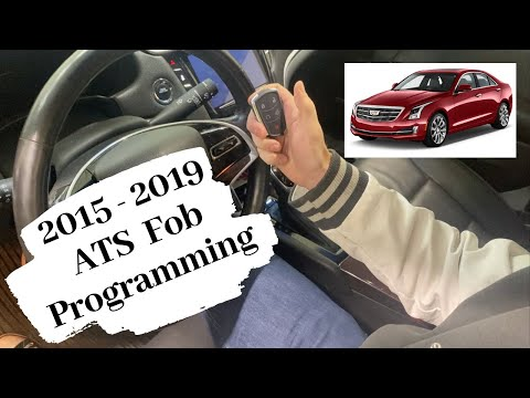 How To Program A Cadillac ATS Smart Key Remote Fob 2015 - 2019