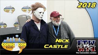 Nick Castle (Halloween's Michael Myers) Niagara Falls Comic Con 2018 Full Panel