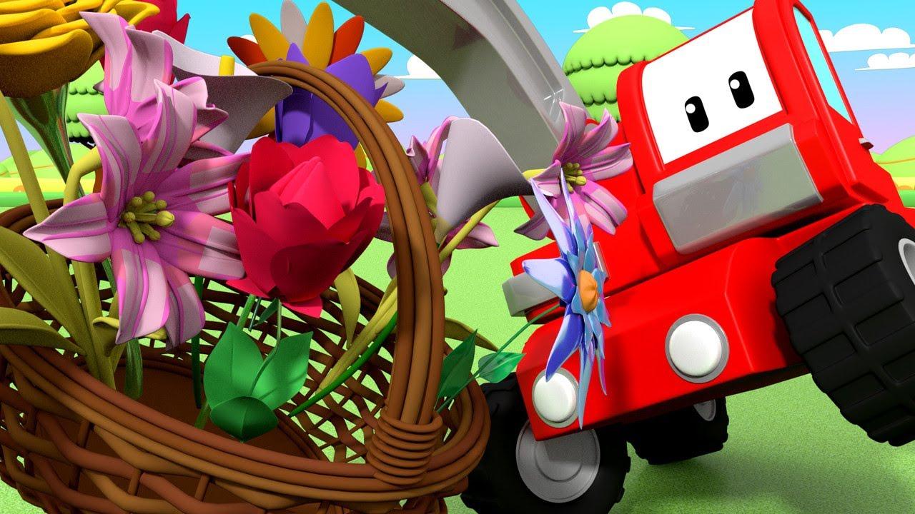 Erster Tag des Frühlings - Lerne mit den kleinen Trucks 👶 🚚 Lehrreiche Cartoons für Kinder