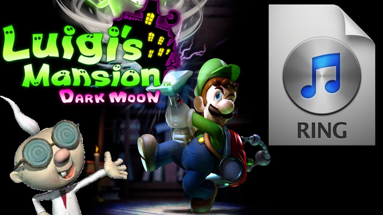 Luigi S Mansion Dark Moon Ringtone High Quality Professor E Gadd Calling