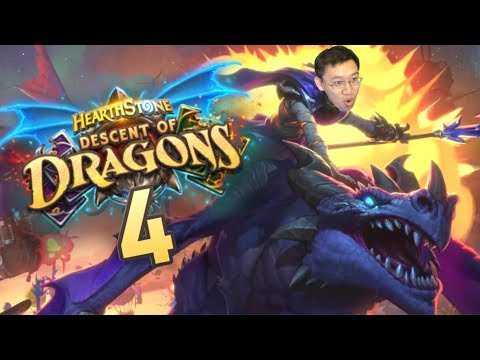 Descent Of Dragons Review #4 CRAZY STRONG Cards?!   Hearthstone