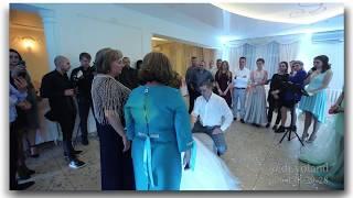 Снятие фаты. Свадьба Дениса и Валерии. Ведущая Елена Прохненко