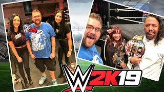Touring WWE Performance Center On Birthday WWE 2k19 - Heel Wife Reacts From Home