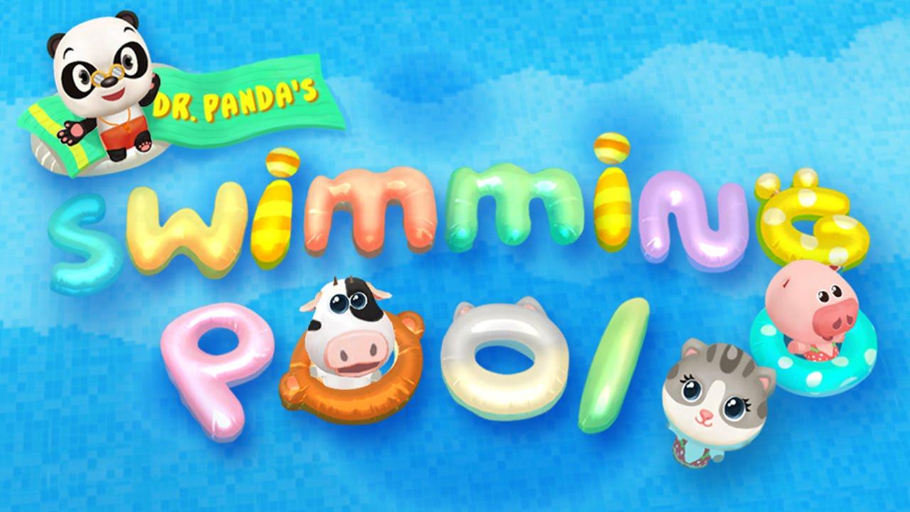 Dr. Panda\'s Swimming Pool (Dr. Panda Ltd) - Best App For Kids - YouTube