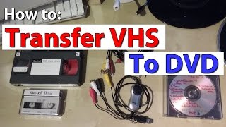 How To Convert VHS Tapes To DVD