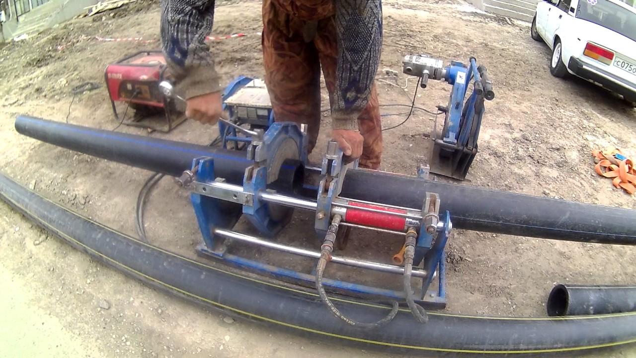 Сварка труб большого диаметра видео