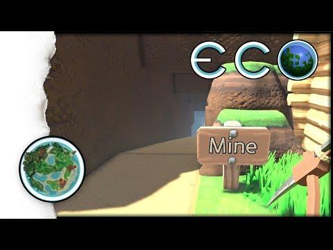 ECO Survival | So baut man sich eine Rohstoffmine in ECO | 011