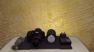 unboxing nikon d5600 with 18 55mm and 70 300mm vr af p nikkor lens