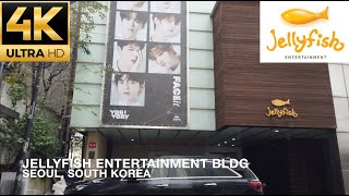 [4K] Walking to Jellyfish Entertainment Building (Home to VI…