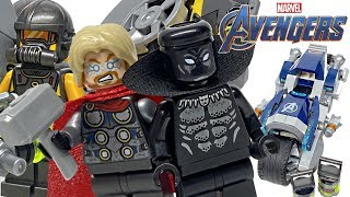 minifigure 76142 NEW LEGO Marvel Super Heroes Black Panther