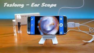Teslong - Ear Otoscope - Unbox & Setup