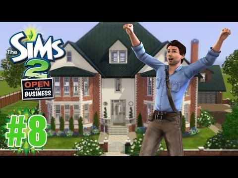 """Dream House!! """"Sims 2 Open for Business"""" Ep.8"""