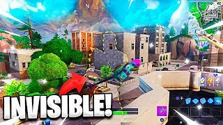 I MAKE INVISIBLE IN FORTNITE *I AM NOT HACKER* - AlphaSniper97