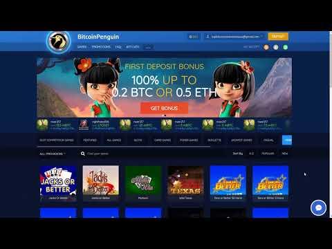 Bitcoinpenguin Bitcoin Casino Review