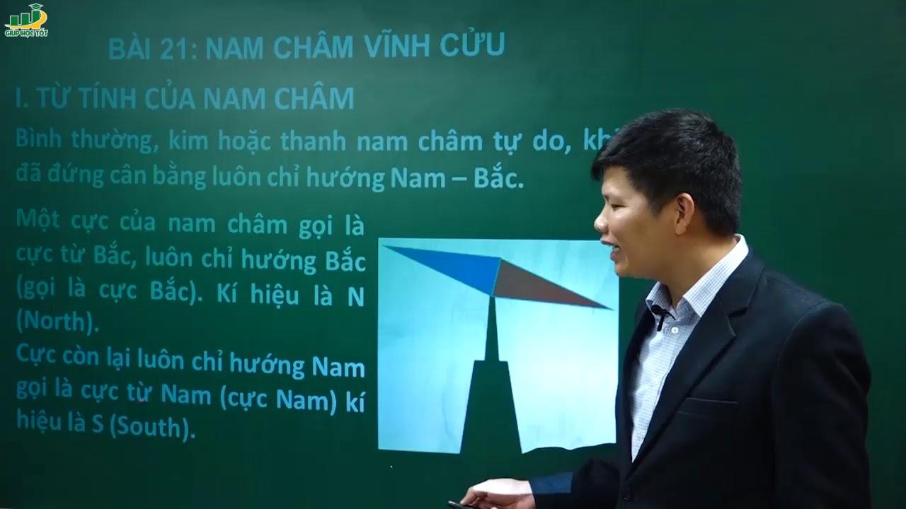 Vật Lí lớp 9- Bài 21 Nam châm vĩnh cửu | Thầy Trần Văn Huỳnh