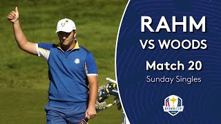 Rahm vs Woods | Sunday Singles | 2018 Ryder Cup