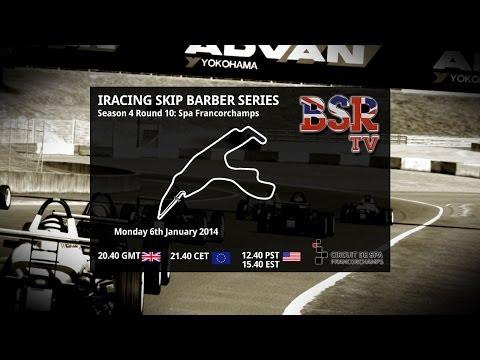 iRacing Skip Barber Season 4 Round 10 Spa Francorchamps
