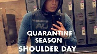 Quarantine season workout #1 Shoulders