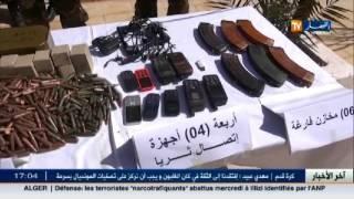 دفاع : القضاء على 3 إرهابيين مروجي مخدرات وحجز أسلحة و 6 قناطير كيف معالج بإليزي