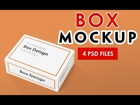 Box - Packaging MockUps