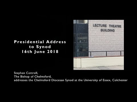 Bishop Stephen's Presidential Address to Synod June 2018