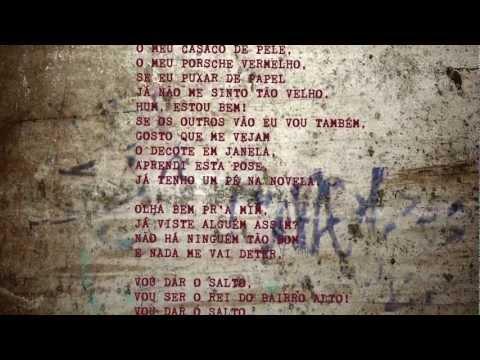 Pedro Abrunhosa - 'Rei do Bairro Alto'. Álbum 'Longe' - Vídeo Letra   Video lyrics