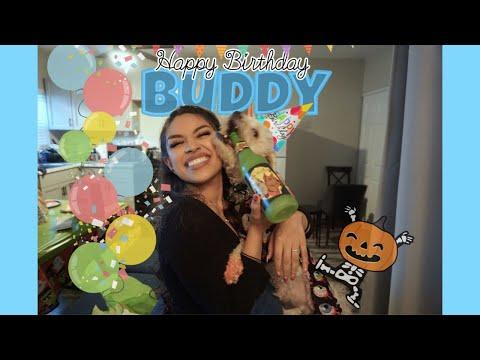 Threw my doggie a birthday party!
