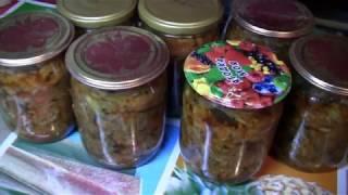 Баклажанная Икра.Самый Вкусный Рецепт на Зиму.eggplant caviar.