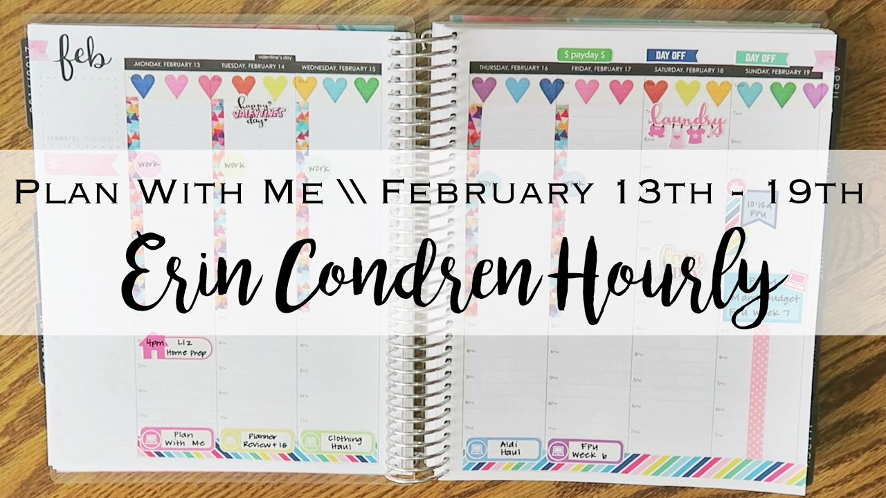 Plan With Me  February 13th  19th  Erin Condren Hourly. Indian Murals. Hyperlipidemia Signs. Studypetal Banners. Youth Soccer Banners. Quotes God Lettering. Sleeping Stickers. Rockets Houston Logo. Custom Neon Signs