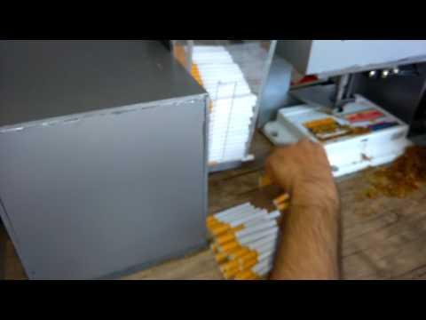 Sigara sarma makinası