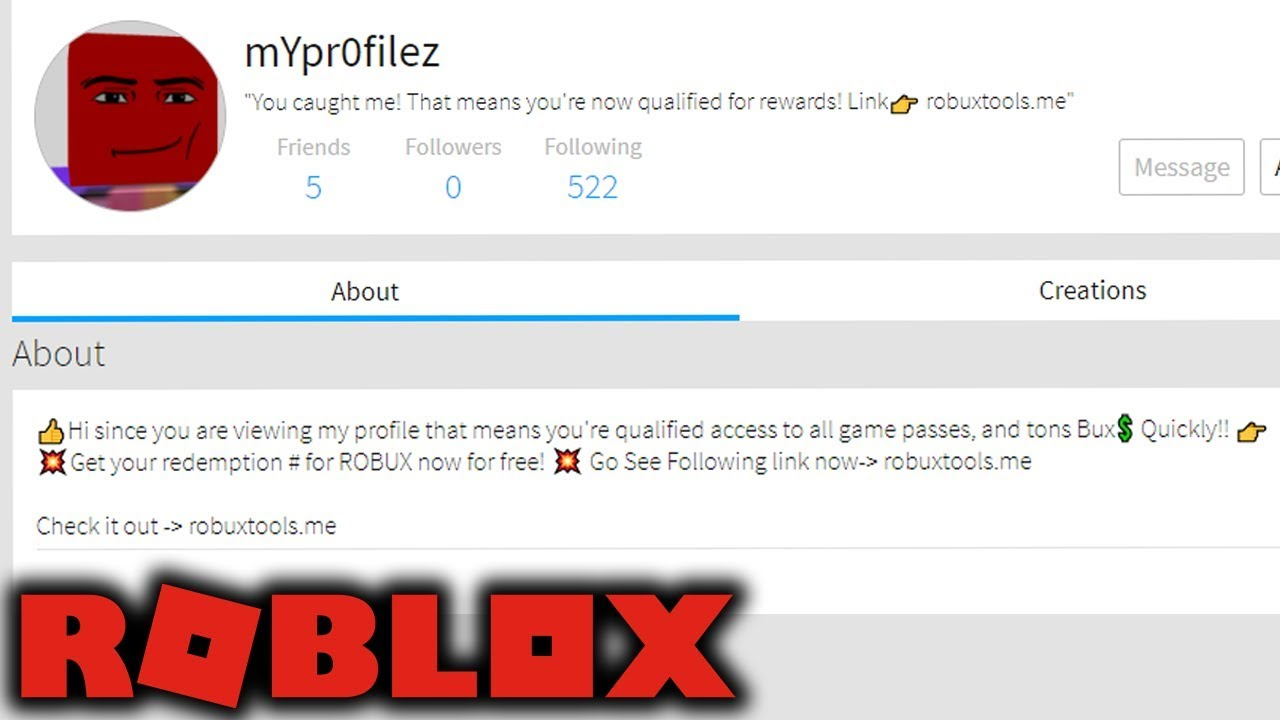 The Return Of Scam Bots Roblox Youtube