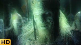 Арагорн призывает мертвых исполнить клятву. Властелин колец: Возвращение короля.