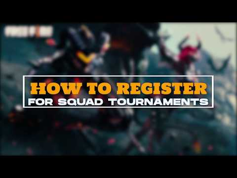 How To Register For A Squad Tournament On Critical X Hub (Reupload)