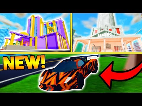 NEW CASINO, BANK, ZIPLINES, AND CAR PACK! (HUGE UPDATE!) | ROBLOX: Mad City
