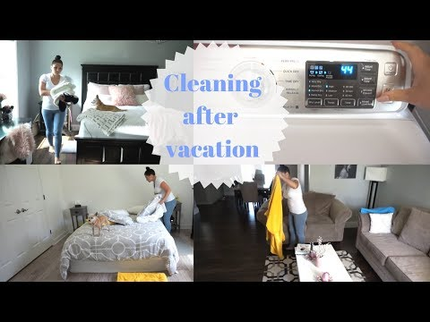 Cleaning after vacation | CLEANING MOTIVATION