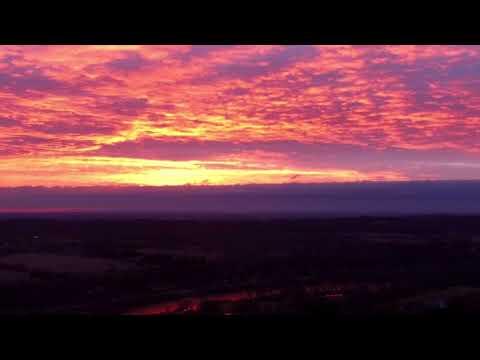Sunrise in North Dumfries