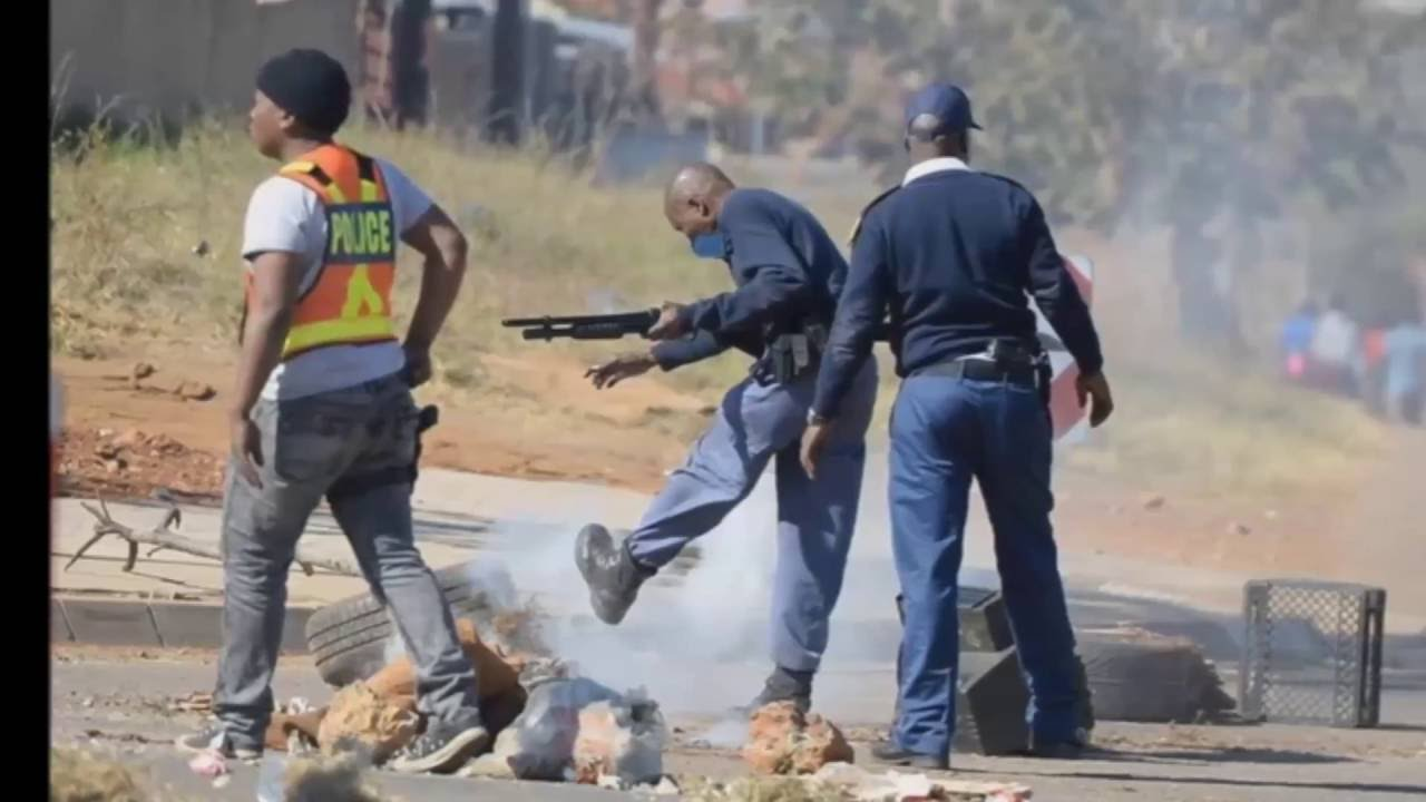 Protesting In South Africa!