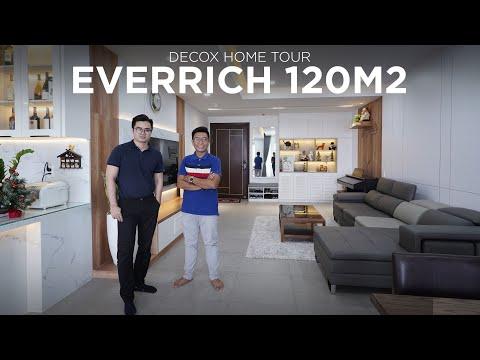 Decox Home Tour - Căn hộ Everrich - Phong cách hiện đại mang đến hiệu ứng thị giác trong thiết kế