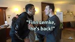 Handball-EM: Dominik Klein steckt Kiril Lazarov die Lemke-News