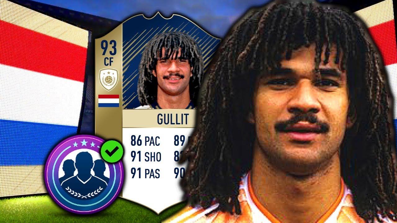 FIFA 18: PRIME ICON GULLIT (93)   SBC ABGESCHLOSSEN! BRASILIEN ICON IM PACK!
