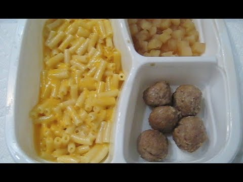 Kraft Macaroni And Cheese Frozen Meal Review Youtube