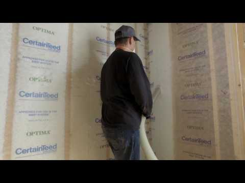 The Right Way to Insulate Sidewalls with Blown-in Insulation