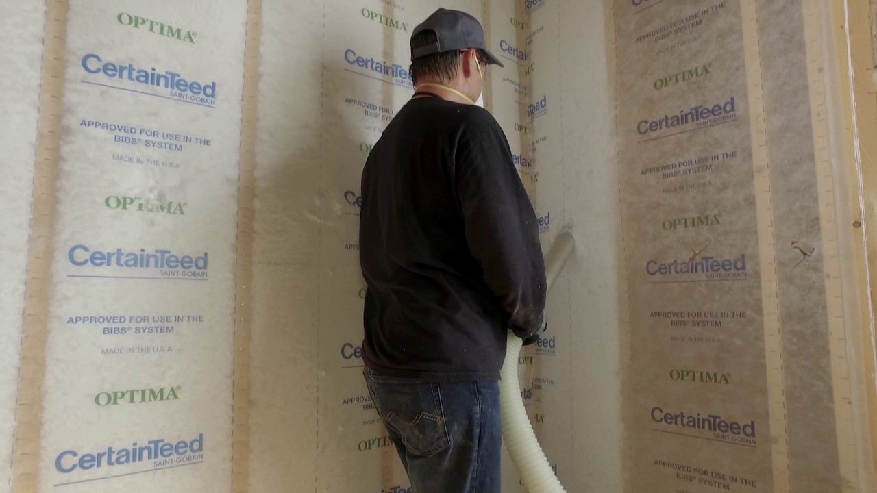 The right way to insulate sidewalls with blown in insulation youtube the right way to insulate sidewalls with blown in insulation solutioingenieria Gallery