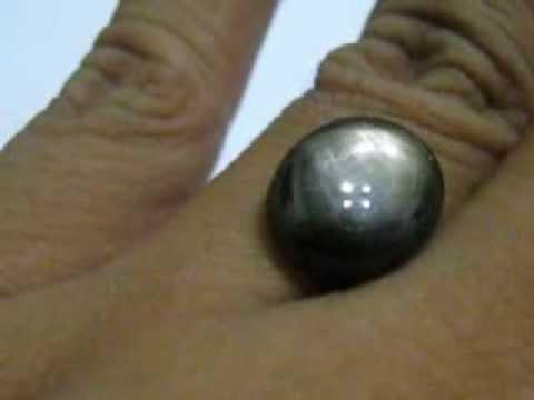 Batu Natural Star Sapphire black 11,33 cts