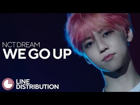 NCT Dream - We Go Up (Line Distribution)
