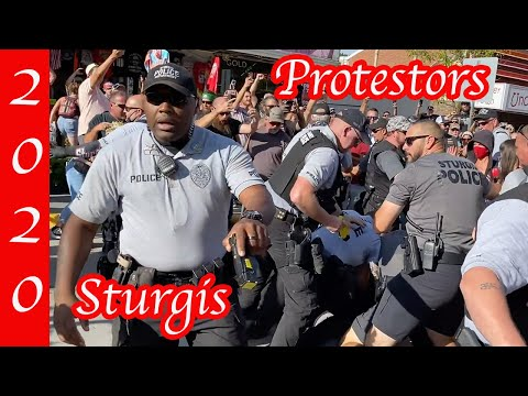 Sturgis 2020 | Antifa Arrives With SOUND | 80th Annual Motorcycle ...