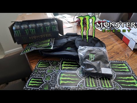 MONSTER ARMY CARE PACKAGE UNBOXING!