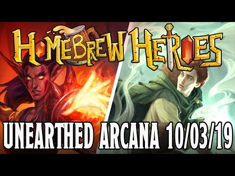 Homebrew Heroes- DND 5e Unearthed Arcana (Twilight Cleric, Wildfire Druid And Naming Wizard!)