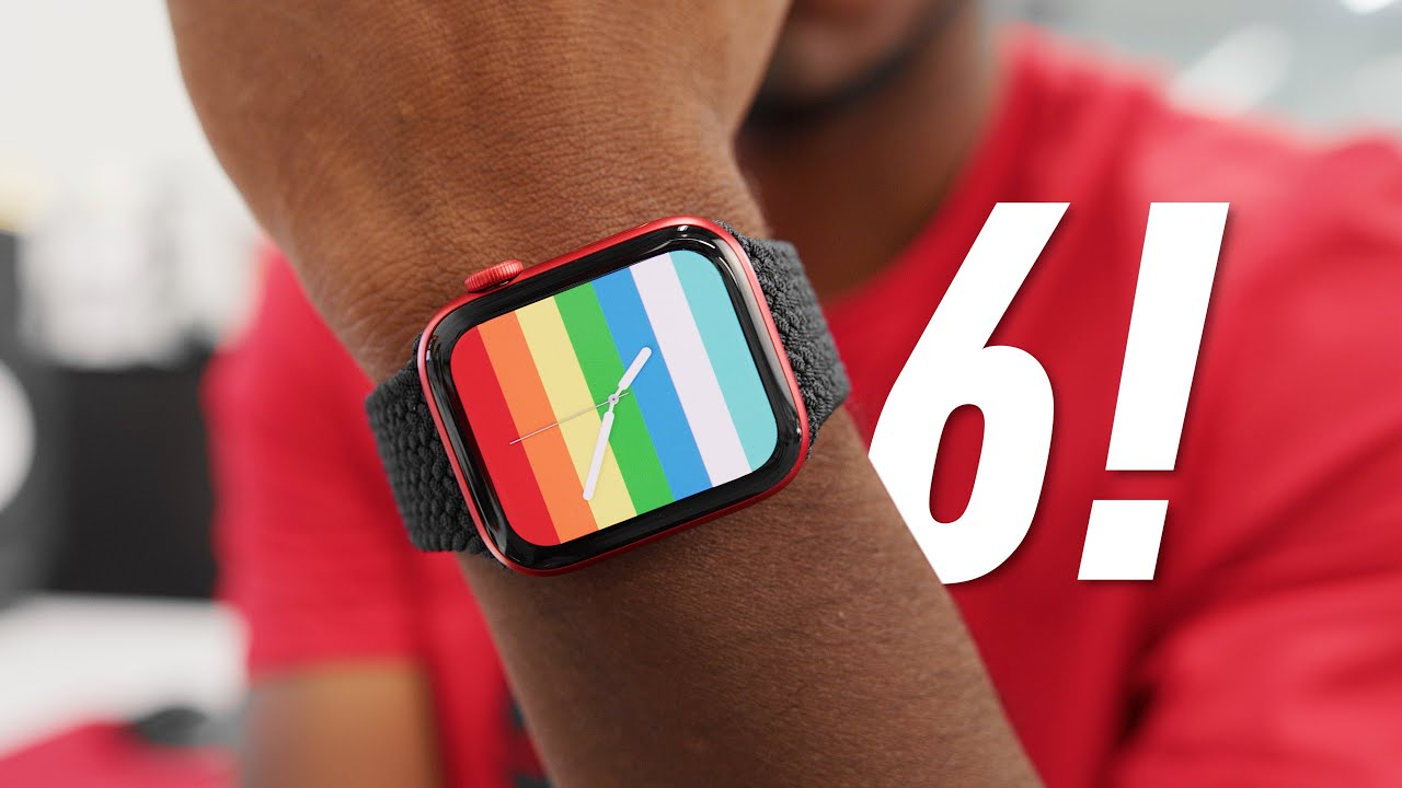 Apple Watch Series 6: Everything New! (Product RED)